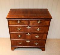 Mid 18th Century Walnut & Pine Chest of Drawers (3 of 10)