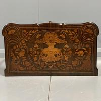 Rare 18th Century Dutch Marquetry Writing Table (10 of 13)