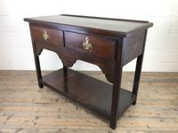 Antique Early 20th Century Oak Pot Board Dresser Base (6 of 9)