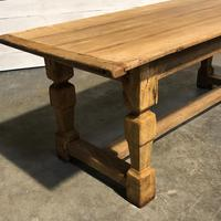 Rustic French Oak Farmhouse Dining Table (12 of 26)