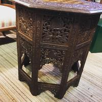 Carved Eastern Games Table (6 of 18)