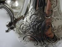 Antique Victorian Silver Tea Set London 1843 by Barnard Bros (11 of 11)