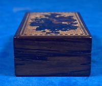 Rosewood & Mosaic Tunbridge Ware Box (10 of 12)