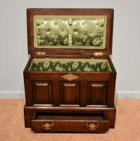 18th Century Welsh Oak Marriage Coffor Bach / Coffer (3 of 8)