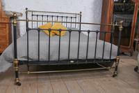 Handsome Classic Victorian Super King Size Bed by Maple & Co (8 of 9)