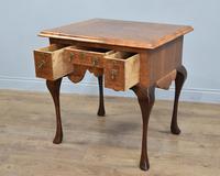 Antique Walnut Lowboy Hall Table (2 of 5)