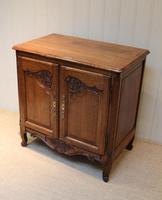 Vintage French Oak Side Cabinet (8 of 8)