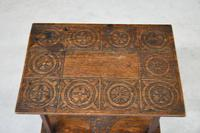Small Oak Two Tier Table (14 of 16)