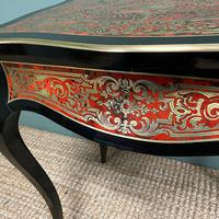 Small 19th Century Antique Boulle Work Table (4 of 9)