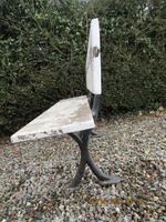 Victorian Cast Iron & Wood Garden Bench (4 of 5)