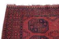 """Vintage / Retro Wool Rug Roughly 6'8"""" x 4'4"""" (6 of 7)"""