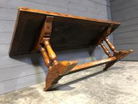 Wonderful French Chestnut Farmhouse Refectory Dining Table (22 of 37)