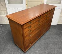 Very Rare Double Military Chest of Drawers (19 of 21)