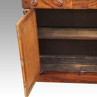 William IV Rosewood Chiffonier Sideboard (7 of 7)