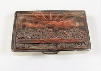Rare French F Morel Solid Silver Last Supper Scense Lud Snuff Box (12 of 18)