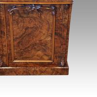 Victorian Burr Walnut Chiffonier Sideboard (6 of 9)