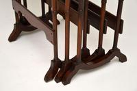 Antique Mahogany Nest of Three Tables (5 of 9)