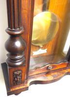 Wow! Antique German Double Weight Walnut 8-Day Vienna Regulator Wall Clock by Gustav Becker (9 of 11)