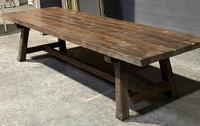 Huge Rustic French Oak Farmhouse Dining Table (20 of 35)
