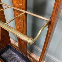 Superb Victorian Oak Antique Stick Stand / Umbrella Stand (4 of 5)