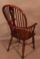 Good High Back Windsor Chair c.1840 (3 of 11)