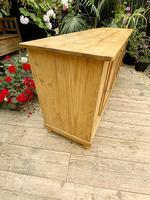 Big! Old 2m Pine Dresser Base Sideboard / Cupboard / TV Stand - We Deliver! (6 of 13)