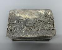 Dutch Silver Table Snuff Box (2 of 8)