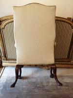 19th Century Winged Walnut Armchair (2 of 7)