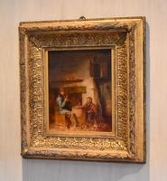 Superb oil painting by Edmund Bristow (1787-1876) (2 of 11)