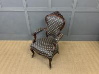 Pair of 19th Century French Rosewood Armchairs (16 of 16)