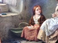 Original 19th Century Painting by W J Haynes (6 of 13)