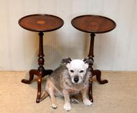 Pair of Inlaid Mahogany Wine Tables (3 of 10)