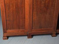 Figured Walnut 3 Door Wardrobe by Whytock and Reid (12 of 14)