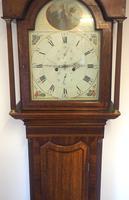 Fine English Longcase Clock Prince Hunslett 8-day Striking Grandfather Clock Solid Mahogany & Oak Case (9 of 14)