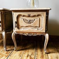 French Limed Oak Bedside Tables / Bedside Cabinets / Nightstands (4 of 4)