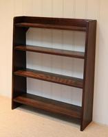 Solid Oak Graduated Bookshelves (5 of 10)