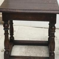 Pair of Oak Coffin Stools Circa Late 17th Century (10 of 24)