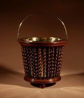 Beautiful Mahogany Tea Stove Bucket / Peat Bucket Jardinière (2 of 11)