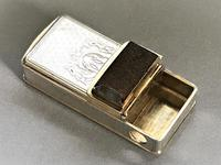Fabulous French Gold & Silver Vesta / Cheroot Cutter (4 of 6)