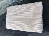 Large Oversized Upholstered Footstool (3 of 5)