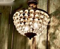 Beautiful French Empire Style Basket Chandelier (2 of 6)