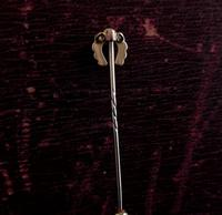 Victorian Gold & Pearl Horseshoe Stick Pin (9 of 9)