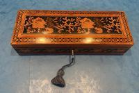 Victorian Satinwood Glove Box With Tunbridge Ware Inlay (8 of 12)