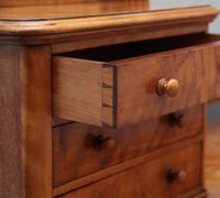 19th Century Satin Birch Dressing Table (14 of 14)