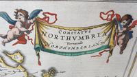 Johann Blaeu Map of Northumberland 1648 (5 of 6)