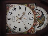 Fine English Longcase Clock John Fenton Congleton 8-day Striking Grandfather Clock Solid Mahogany Case (13 of 16)