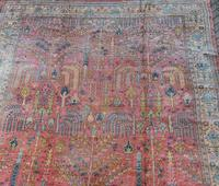 Antique Ushak Carpet 395x328cm (10 of 12)