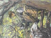 "Edwardian Pastel Painting ""The Sheepfold"" By John Robert Keitley Duff RI RA Rse (10 of 34)"