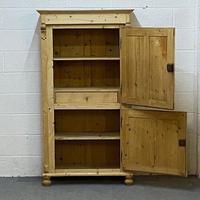 Old Pine 2 Door Cupboard (2 of 5)