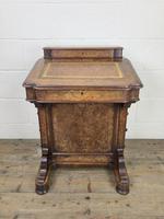 Victorian Walnut Davenport Desk (3 of 10)